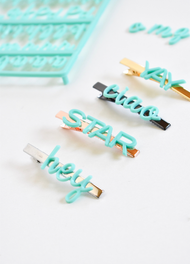 How To Make A DIY Hair Clip To Rock The Season's Hottest Hair Trend