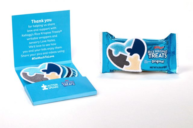 Rice Krispies Treats Partners with Autism Speaks to Create Love Notes for Kids