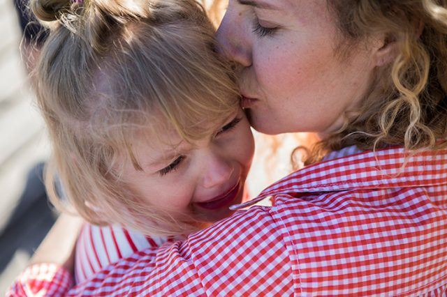 I Couldn't Leave My Daughter When She Cried at Preschool Drop-Off