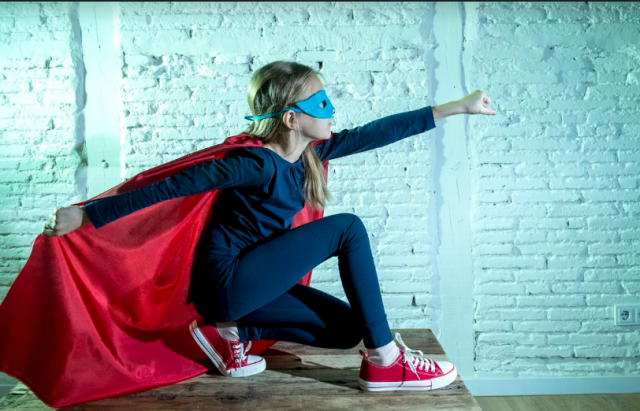 How to Inspire Your Daughter To Be a Real Life Superhero