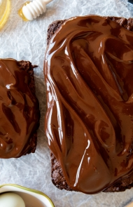 Skinny Chocolate Peppermint Quick Bread