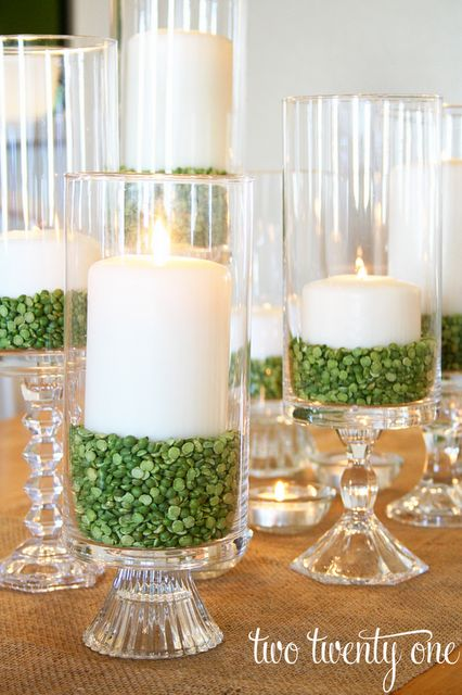 Split Pea Candles