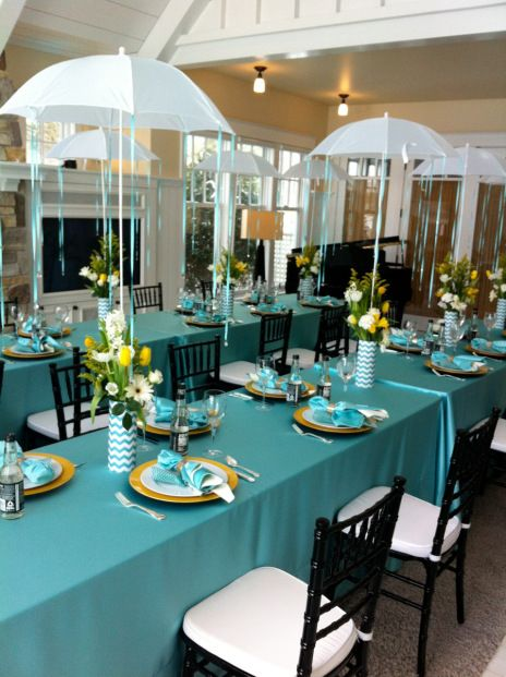 Baby Shower Umbrella Centerpieces Home Design Ideas And Pictures