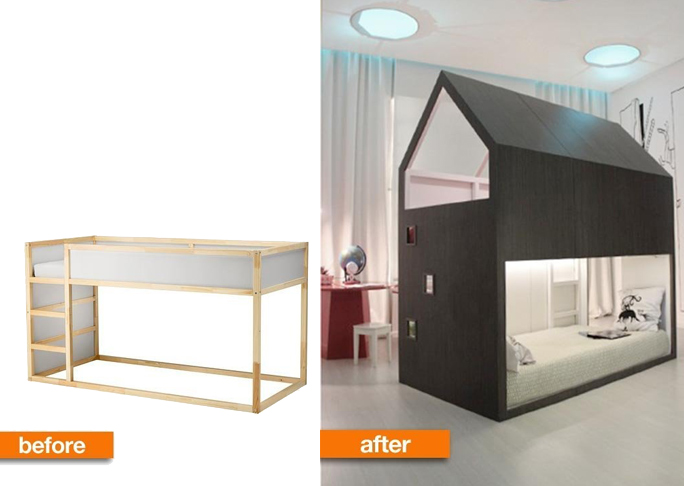 Sofa bunk bed ikea - 101 Epic Ikea Hacks For Your Home