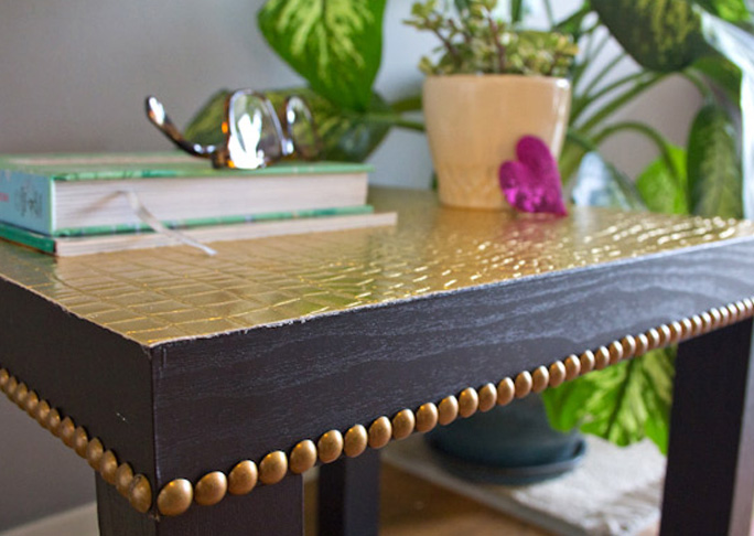 Glam Lack Table Upgrade