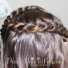 Swirled French Braid