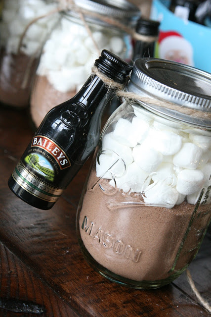 Entertain with Hot Chocolate Jars