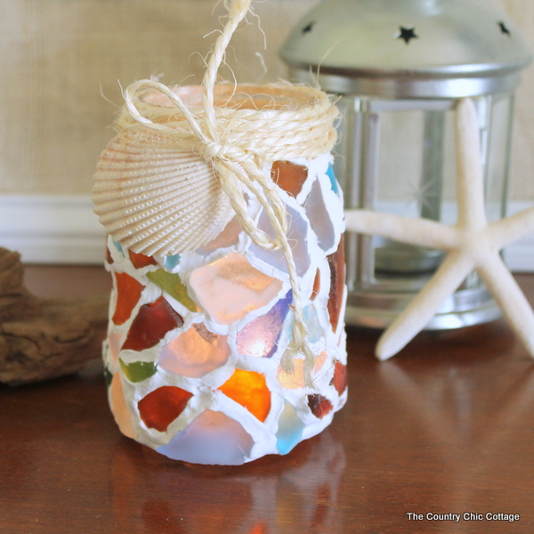 Add Some Sea Glass to Your Jars