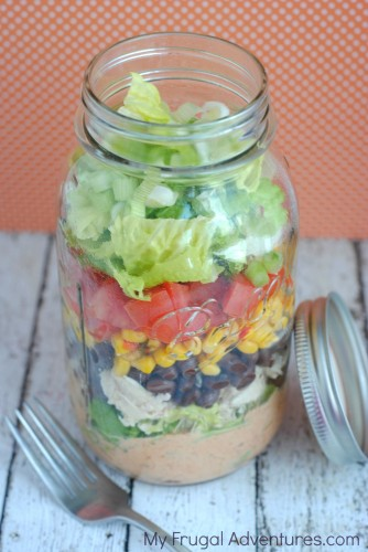 Entertain with Some Salad in a Jar