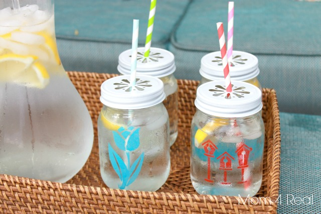 Add Stencils to Your Jars