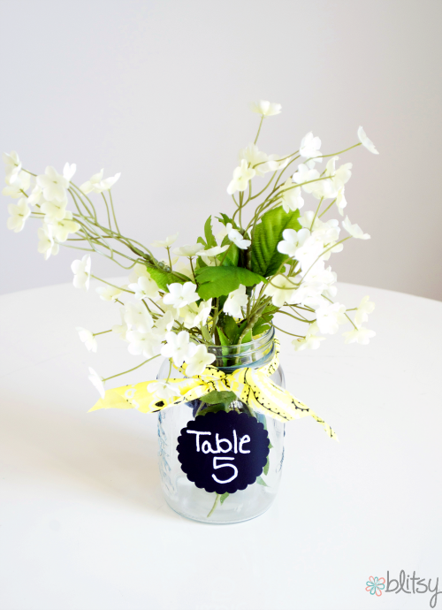 Entertain With: Jar Table Numbers
