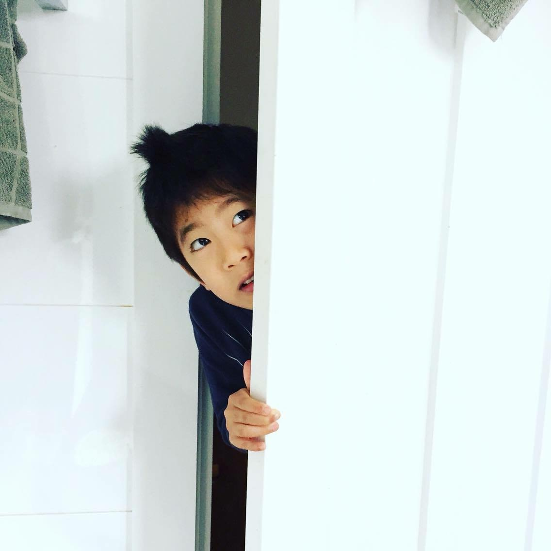 Play hide and seek with them