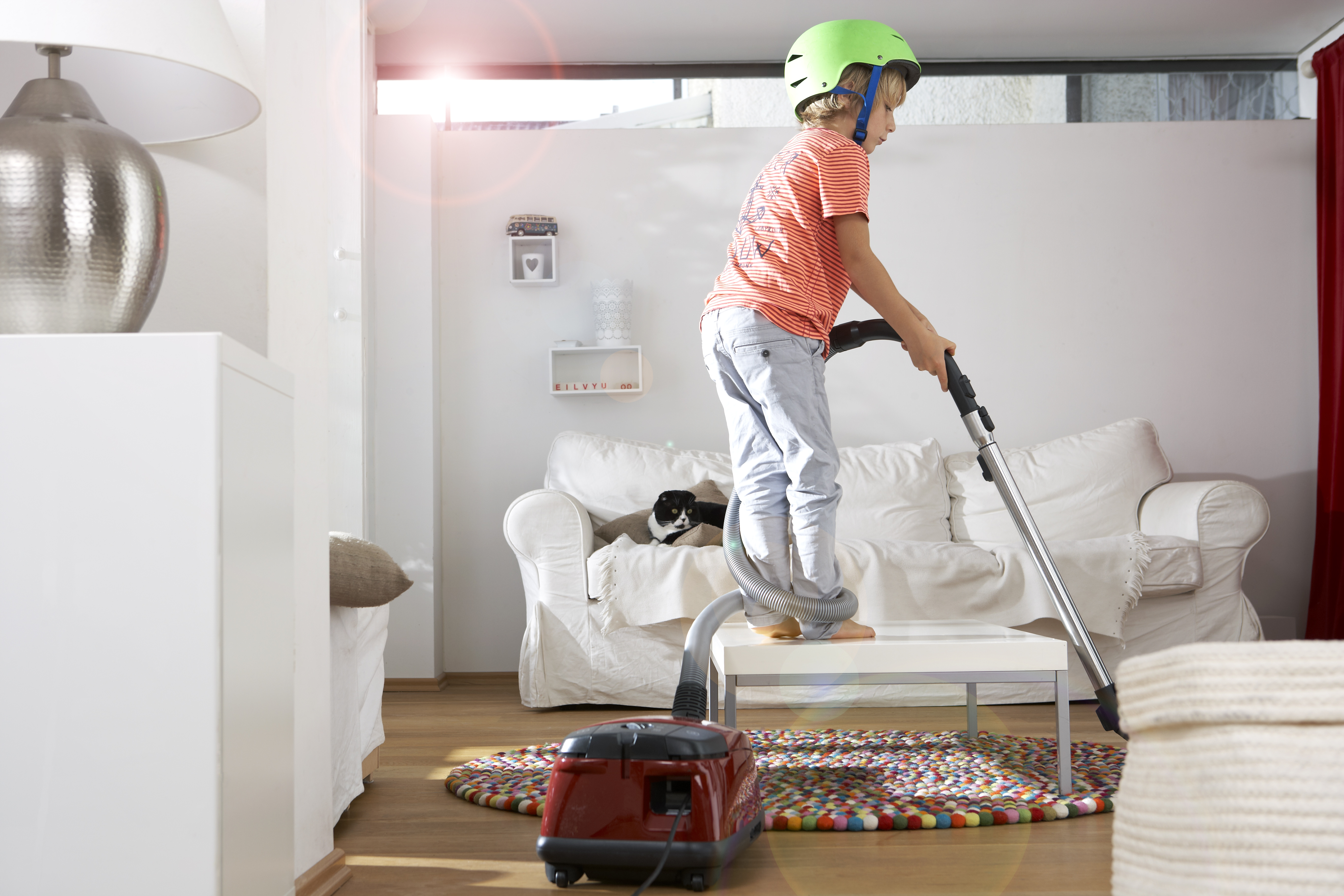 Let them help around the house