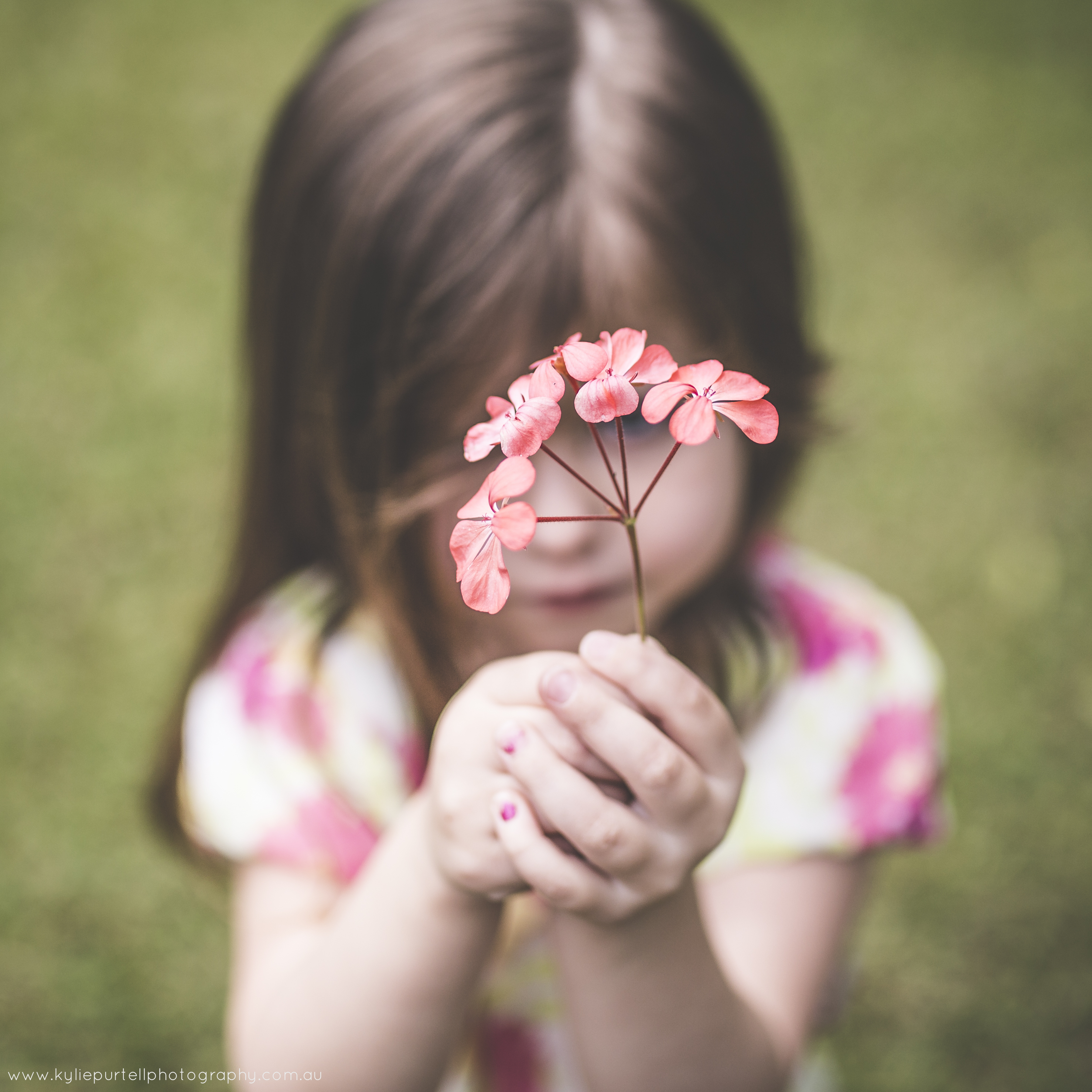 Treasure the flowers they pick for you