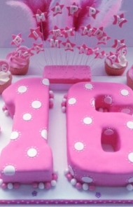 Peachy 11 Super Sweet 16 Cake Ideas Your Teen Will Love Personalised Birthday Cards Sponlily Jamesorg