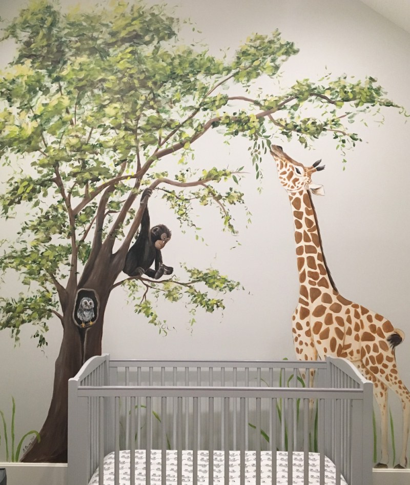 11 Adorable Nursery Wall Murals For Your Babys Room