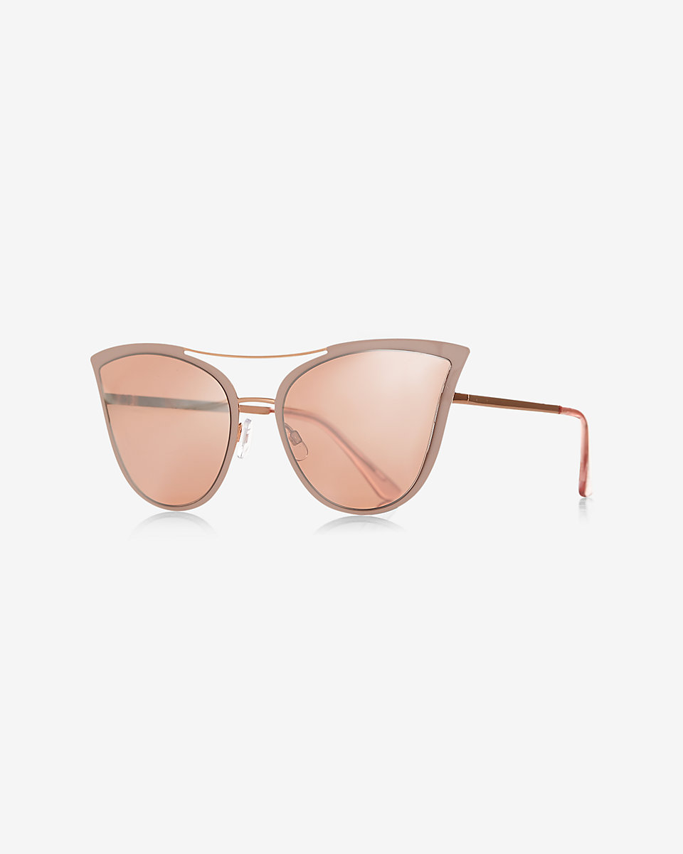 Browbar Cat Eye Sunglasses
