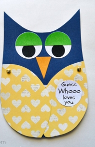 Guess Whooo Loves You Card