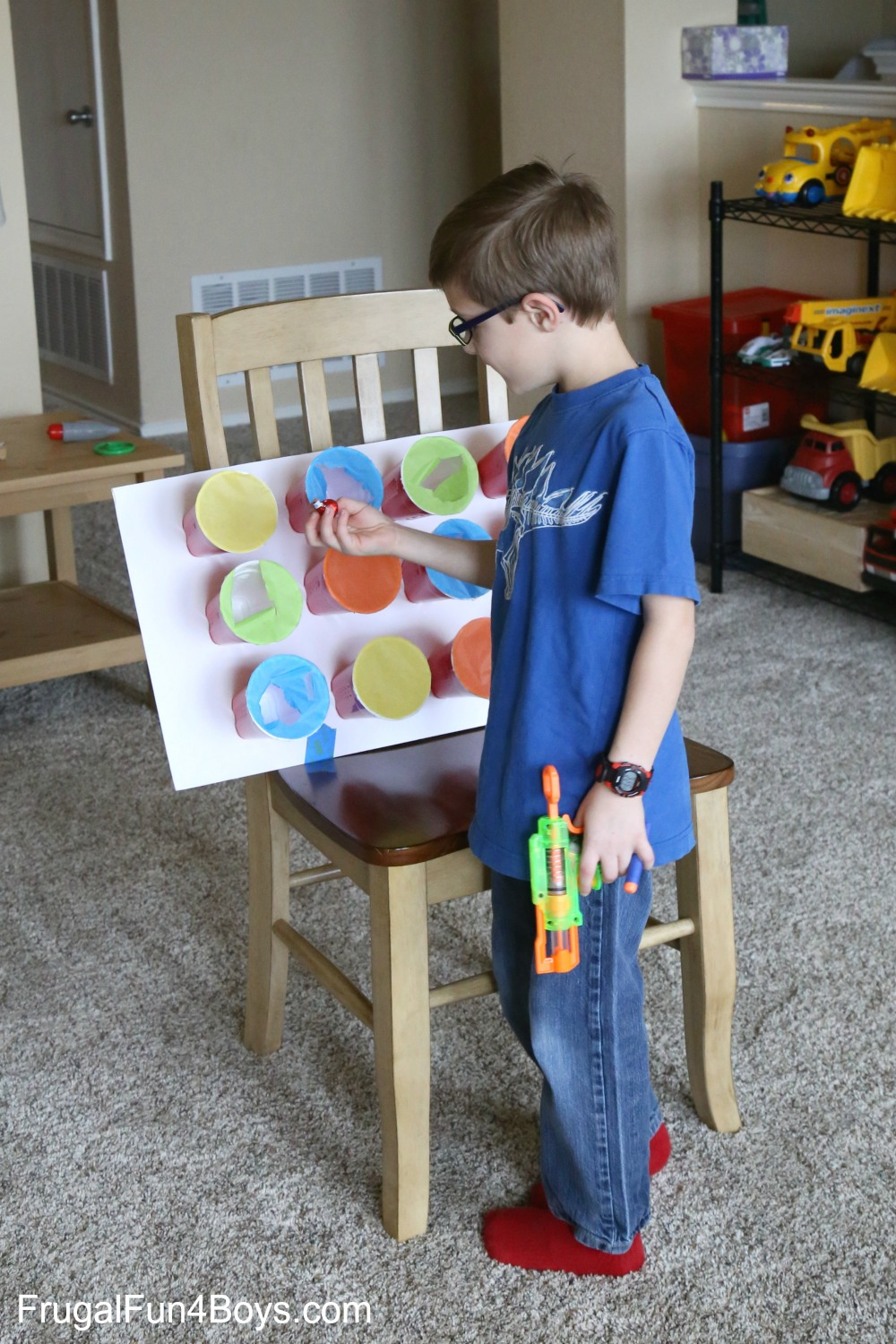 Nerf Target Prize Party Game