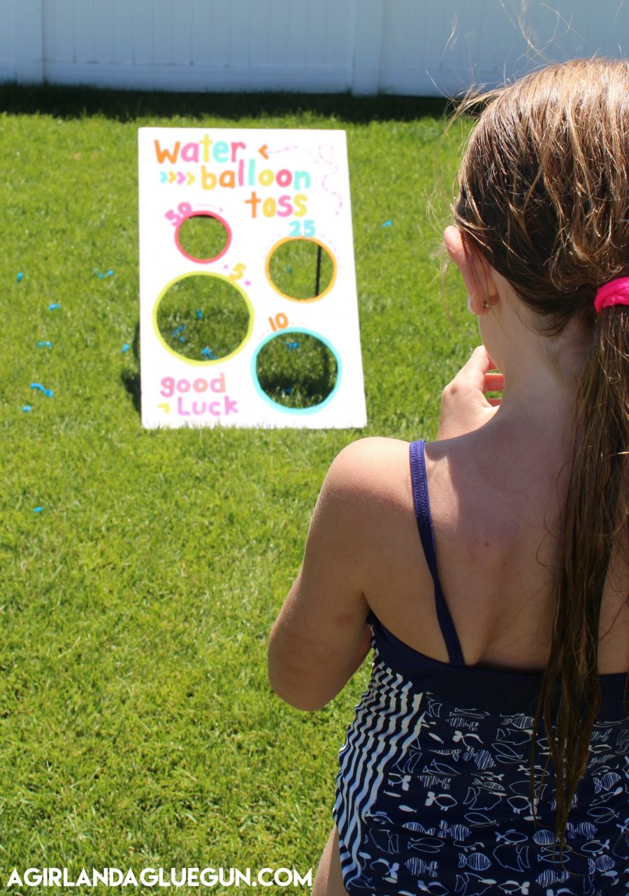 Water Balloon Toss Party Game
