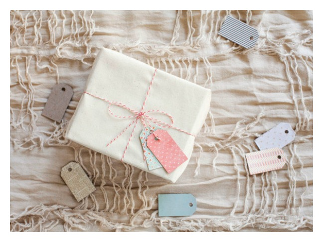 Cereal Box Gift Tags
