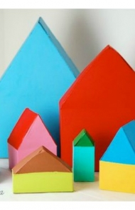 Cereal Box Houses
