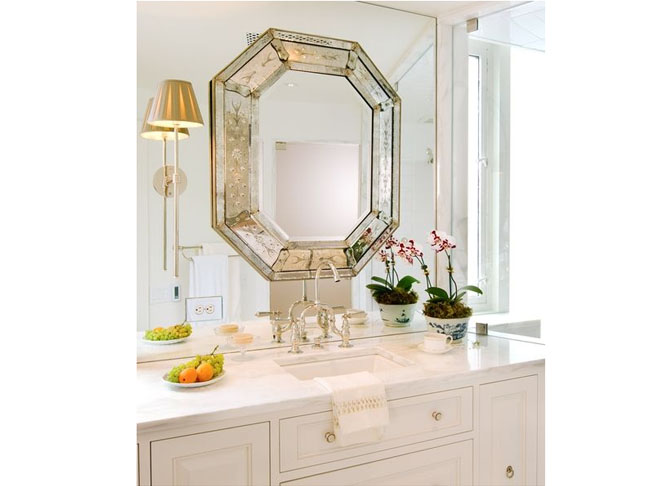 Diy bathroom mirror frame framing an existing bathroom for What kind of paint to use on kitchen cabinets for affordable framed wall art