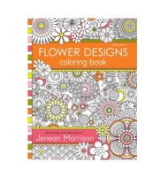 Flower Designs Colouring Book