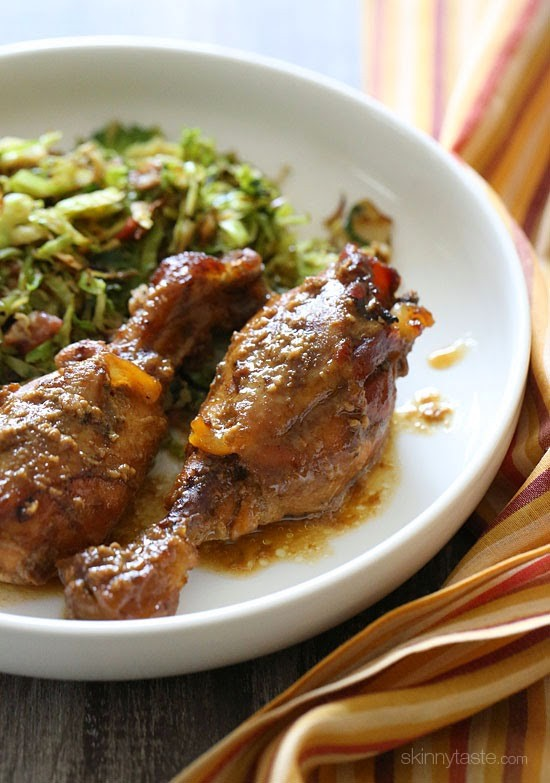 Crock Pot Maple Dijon Drumsticks