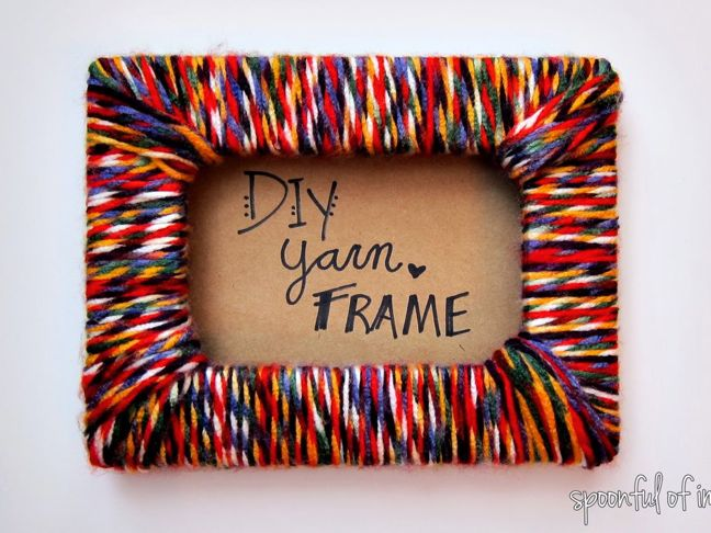 15 Diy Picture Frames That Cost Next To Nothing To Make
