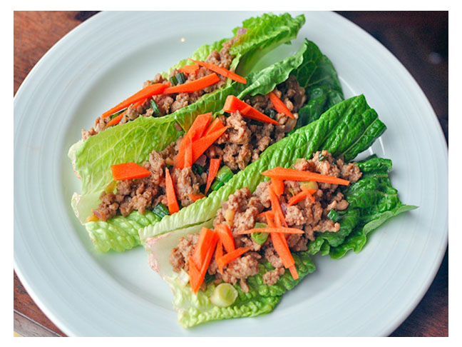 thai turkey lettuce wraps thai turkey lettuce wraps lettuce wraps are ...