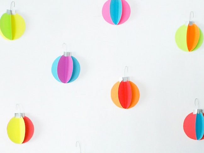 DIY Ornament Decals