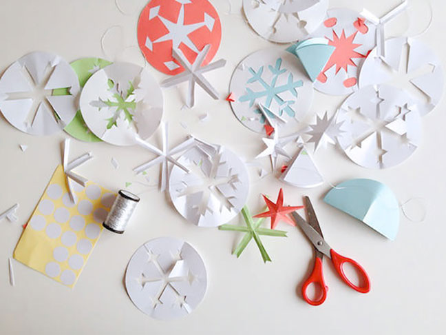 The Perfect DIY Snowflake