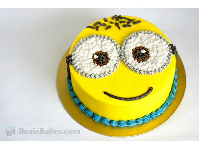 Simple Minion Cake Images Dmost for