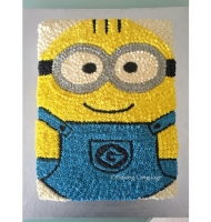 Piped Minion Cake