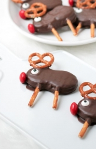 No-Bake Reindeer Cookies