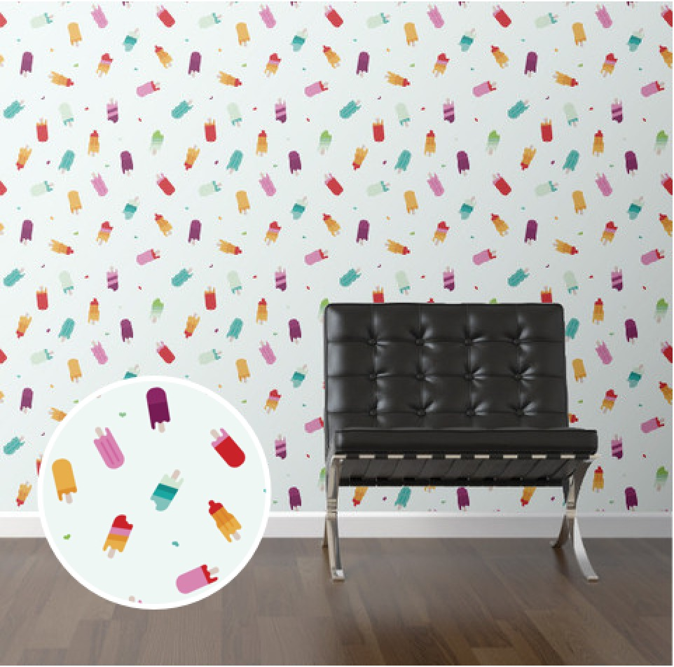 Create a super stylish kid 39 s room 21 modern removable for Kids room wall paper