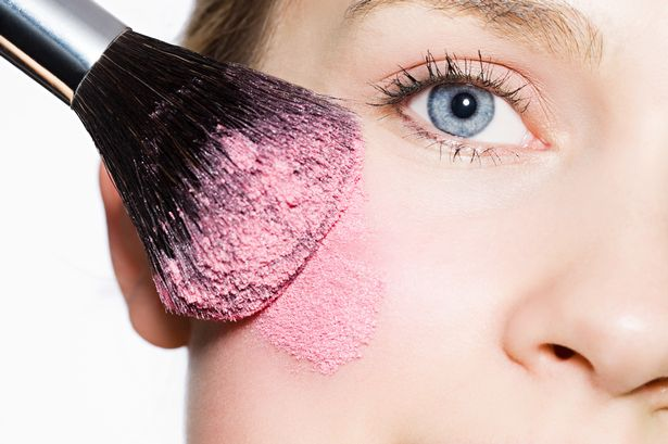 Cheeks: Fast Fix for Too Much Blush