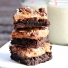Nutty Coconut Caramel Brownies