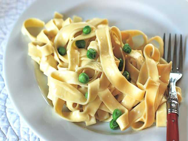Creamy Pasta and Peas