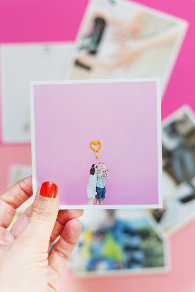 Embroidered Photo DIY