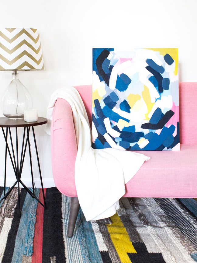 Colorful DIY Painting