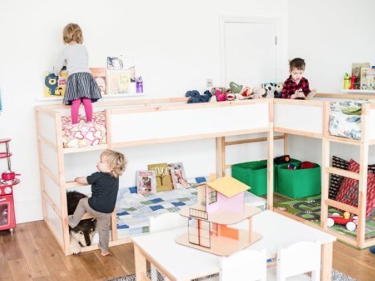 kids loft bed ikea kura begin slideshow 31 ikea bunk bed hacks that will make your kids want to share room