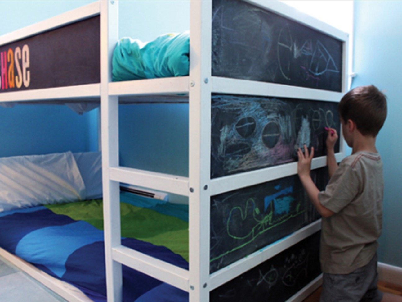 Chalk and Snooze Bunk