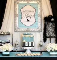 Breakfast with Tiffany Theme