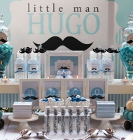 Mustache Celebration Shower Theme
