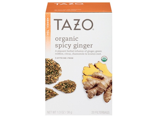 Tazo Organic Spicy Ginger Tea