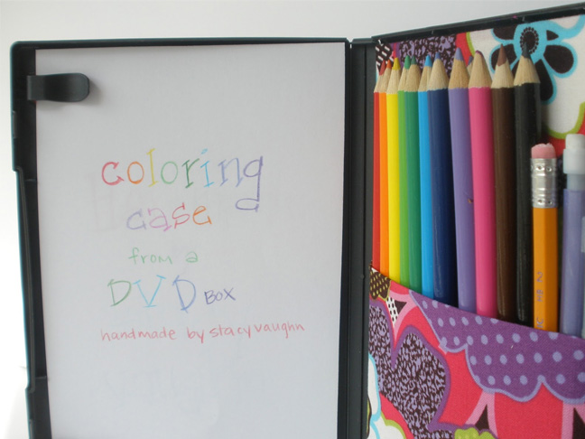 DVD Coloring Case