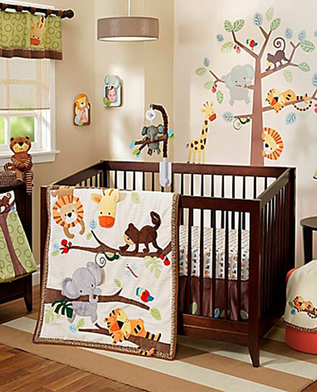 51 gorgeous gender neutral baby nursery ideas for Baby room decor ideas unisex