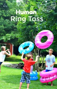 DIY Human Ring Toss